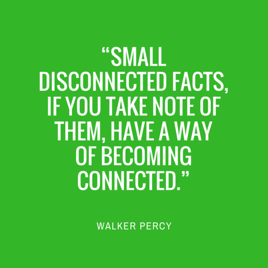 Walker Percy Quote