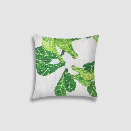 Ferrick Mason Fiddle Leaf Fig Pillow