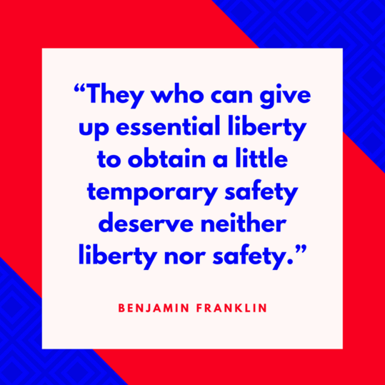Benjamin Franklin on Liberty