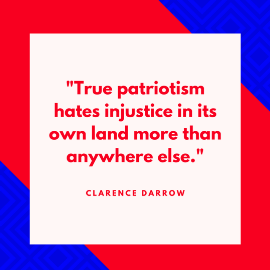 Clarence Darrow on Patriotism