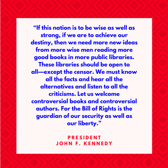 President John F. Kennedy on Liberty