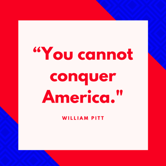 William Pitt on America