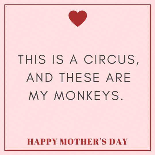 Captions for mothers to post:
