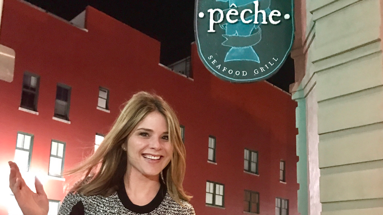 Jenna Bush Hager in New Orleans
