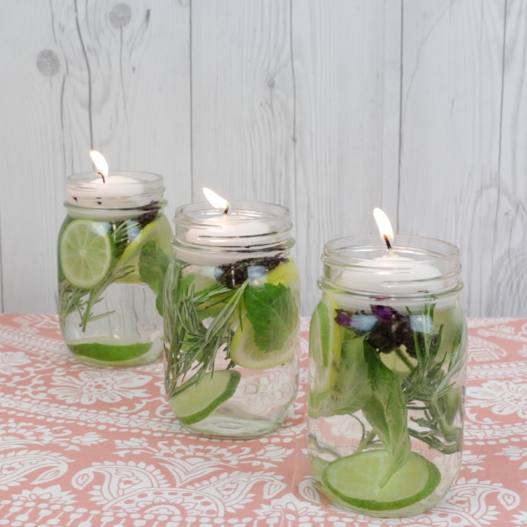 This Gorgeous Summer Citrus Jar is Actually a Natural Bug Repellent You Can Easily DIY