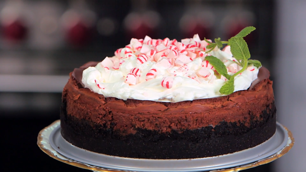 Peppermint Chocolate Cheesecake Southern Living