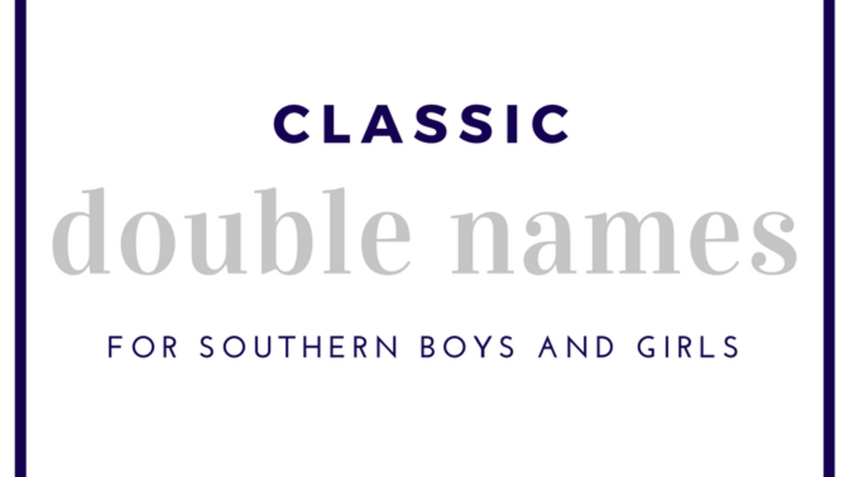 Classic Double Names You'll Still Hear On Southern Playgrounds Today