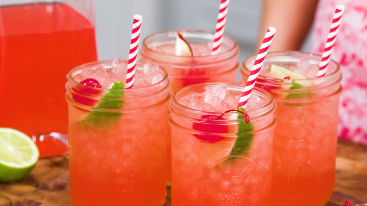 Non-Alcoholic, Big Batch Drinks for Game Day