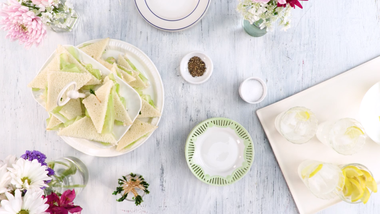 Dainty Cucumber Sandwiches Recipe