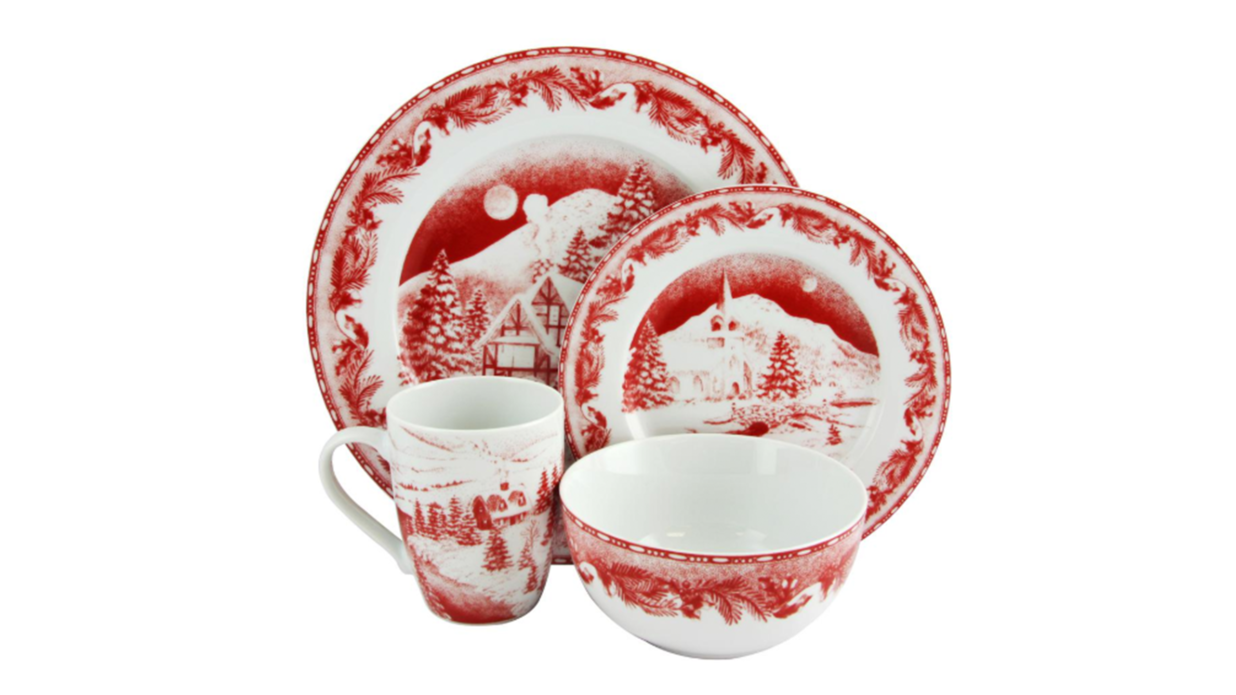 Christmas Dinnerware Sets We Love