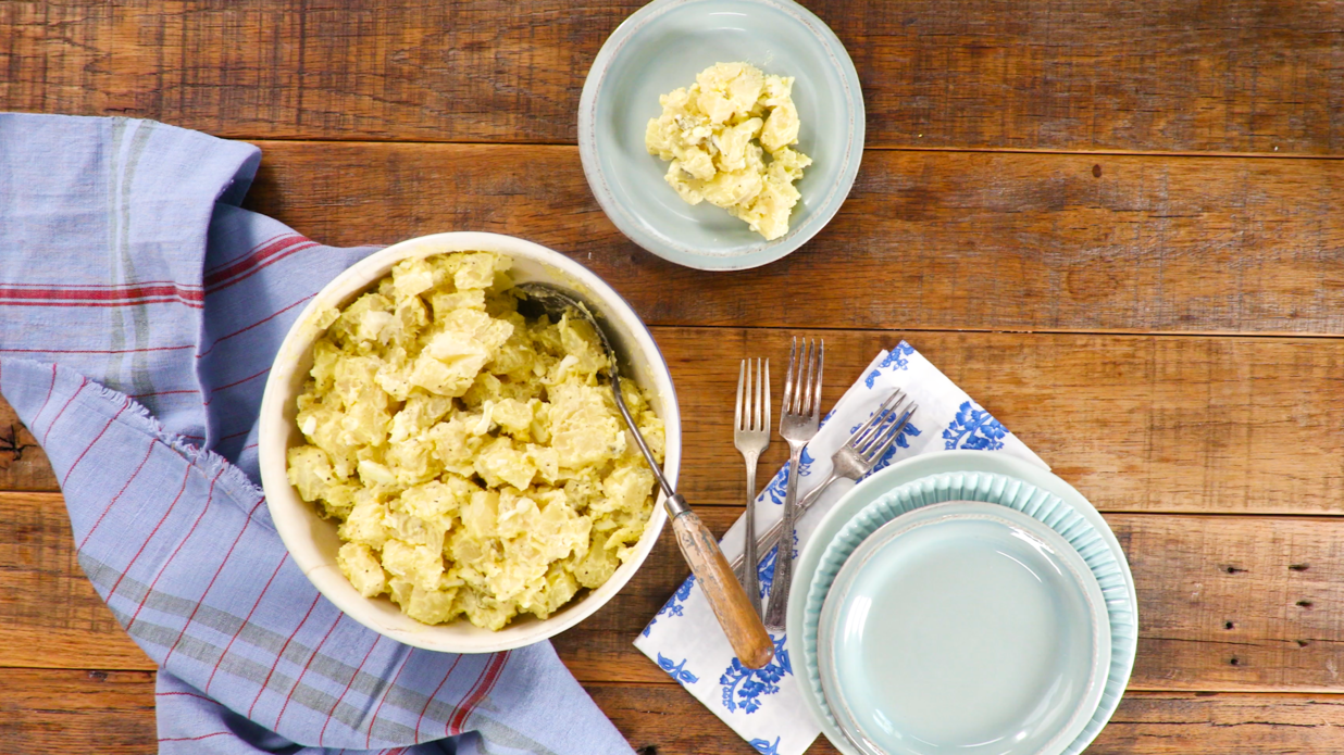 Potato Salad with Sweet Pickles