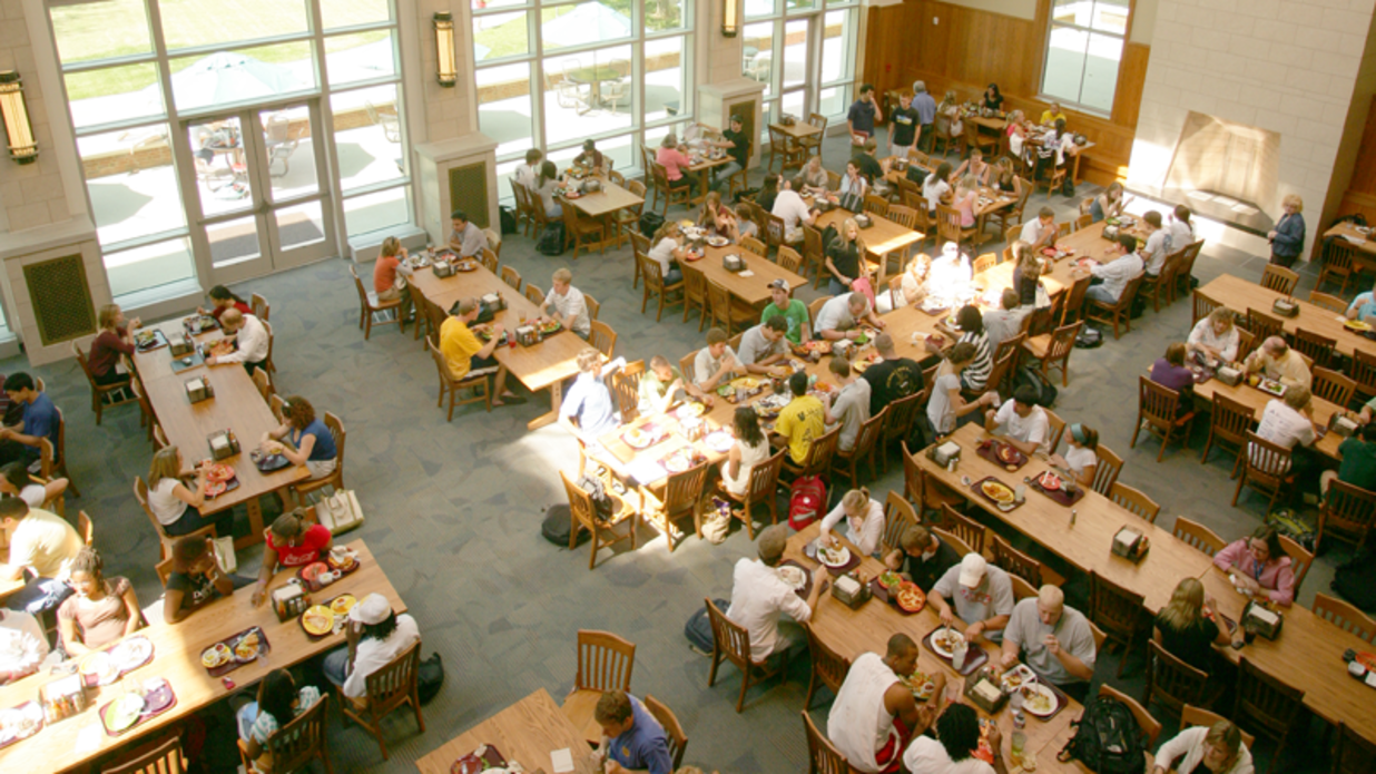 The South's Most Stunning College Dining Halls