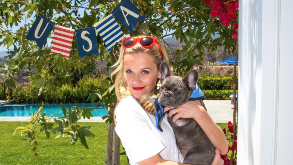 20 Times We Wished We Were Reese Witherspoon's Dogs