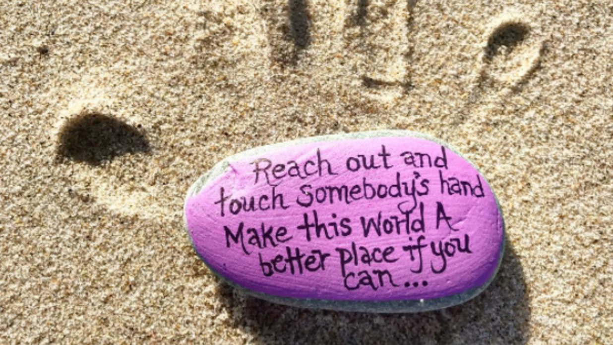 Spread a Little Kindness By Simply Painting a Rock ...