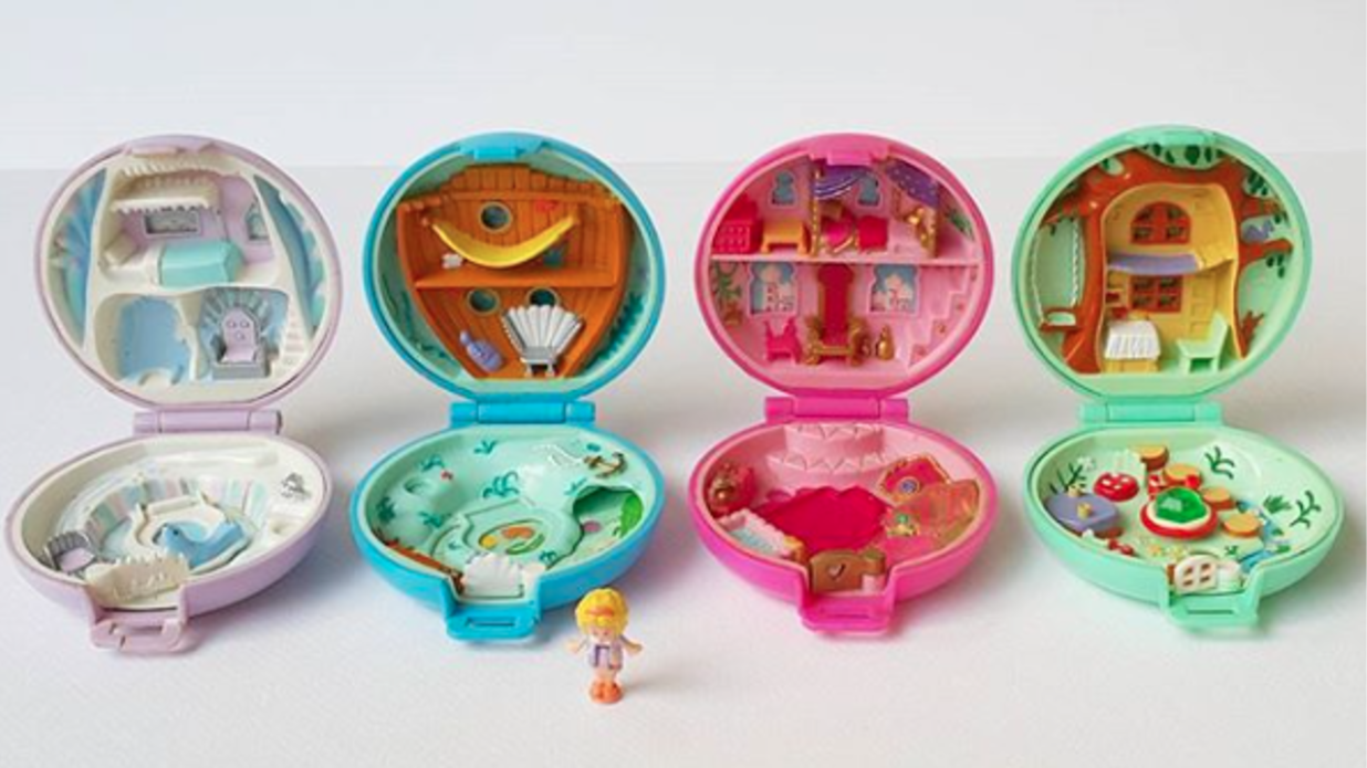 vintage toy polly pocket is selling for big bucks