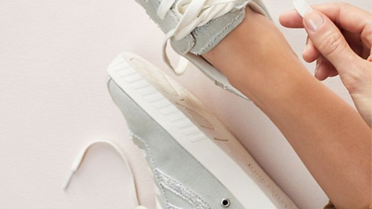 Comfy Sneakers for Pairing With Summer Dresses