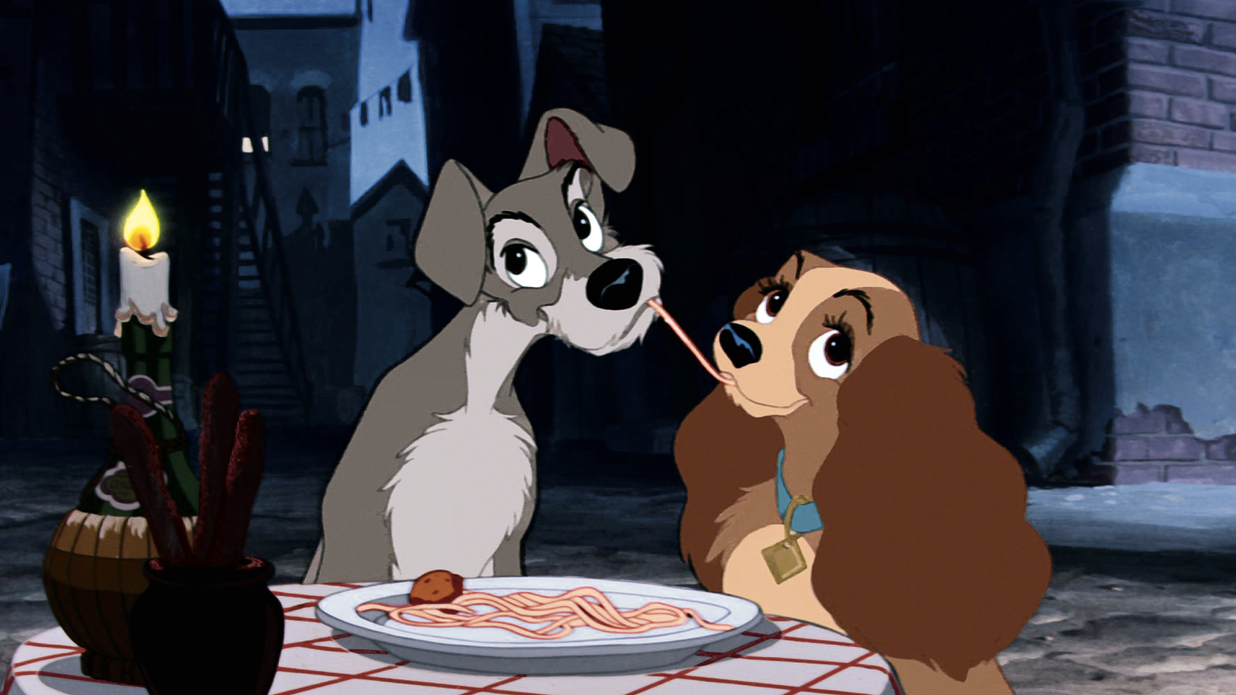 See Lady and the Tramp Recreate That Iconic Spaghetti Scene in New Trailer