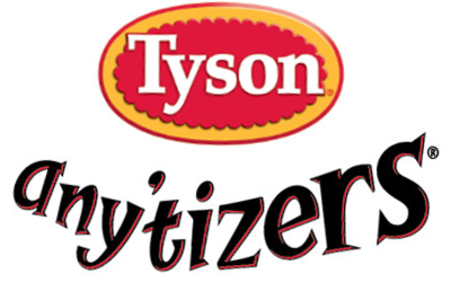 Like Tyson Any'tizers on Facebook for the latest in news & offers
