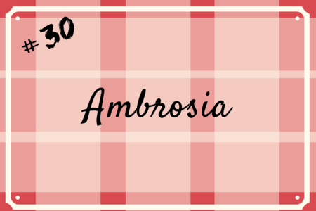 Ambrosia Recipe Secret